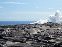 Lava Fields Royalty Free Stock Image