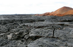 Lava Fields Stock Photo