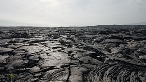 Lava fields, Big Island of Hawaii royalty free stock image
