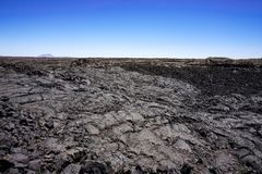 Lava fields, Craters of the moon National Park, Idaho royalty free stock photo