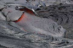 Lava Flow Royalty Free Stock Images