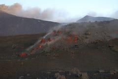Lava Flow royalty-vrije stock afbeelding