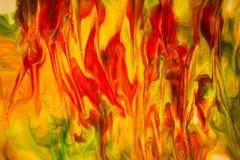Lava Flow Abstract Fotografía de archivo
