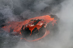 Lava flow Royalty Free Stock Photos