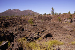 Lava flow Stock Images