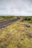 Lava flow Stock Images