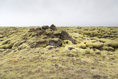 Lava flow Stock Image