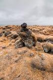 Lava flow Stock Photo
