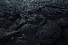 Lava flows on the Big Island Hawai'i Stock Images