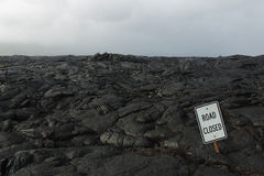 Lava flows on the big island of Hawaii Stock Photography
