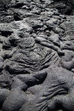 Lava formations - Galapagos Stock Photography