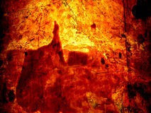 Lava glow. Manipulated photo of marble Royalty Free Stock Photos