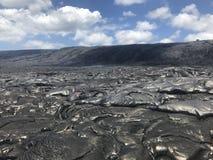 Lava havaiana imagem de stock royalty free