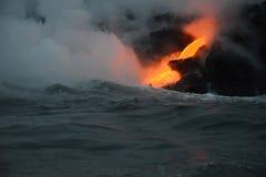 Lava in Hawaii Stock Photo