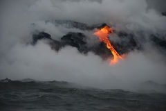 Lava in Hawaii Stock Images