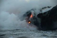 Lava in hawaii Stock Photography