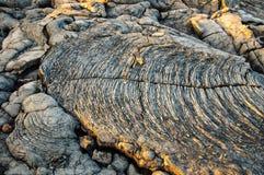 Lava - isla grande Fotografía de archivo libre de regalías