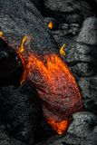 Lava isola del ` s delle Hawai sulla grande Immagini Stock Libere da Diritti