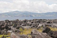 Lava landscape Royalty Free Stock Images