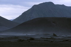 Lava landscape Royalty Free Stock Image