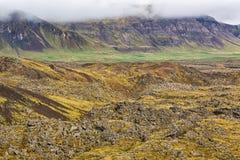 Lava landscape in Iceland. Stock Images