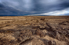 Lava landscape of Iceland Stock Photo