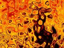 Lava Magma Texture Abstract Bright-de Achtergrond van Brandvlammen Royalty-vrije Stock Foto's