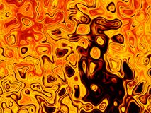 Lava Magma Texture Abstract Bright-de Achtergrond van Brandvlammen Stock Illustratie