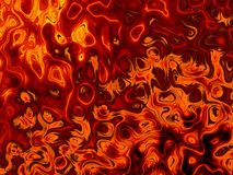 Lava Magma Texture Background Fire abstrait flambe le modèle Photographie stock libre de droits