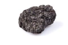 Lava nera Immagine Stock