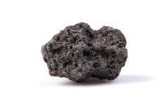 Lava nera Fotografia Stock