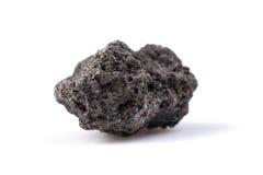 Lava nera Fotografia Stock Libera da Diritti