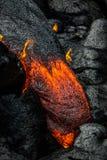 Lava op het Grote Eiland van Hawaï ` s royalty-vrije stock afbeeldingen