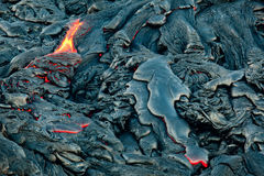 Lava Outbreak Royalty Free Stock Photography