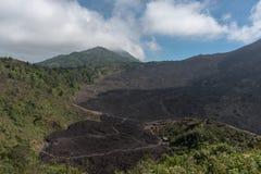 Lava Path Way on Pacaya Volcano in Guatemala. Landscape. Royalty Free Stock Image