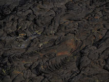 Lava patterns close to Erta Ale volcano, Ethiopia Royalty Free Stock Images