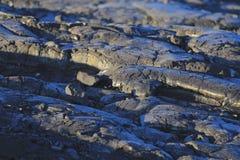 Lava patterns Stock Image