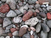 Lava pebbles Royalty Free Stock Photos
