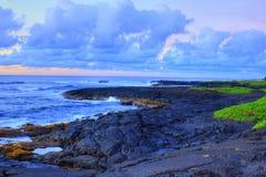 Lava Rock Beach Stock Photos