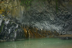Lava rock formation Stock Photography