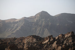 Lava Rock vulcânico preto fotos de stock