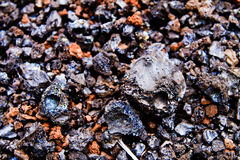 Lava Rocks close up Stock Image