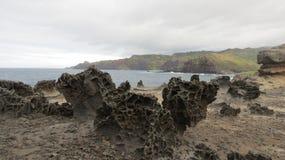 Lava rocks Stock Photography