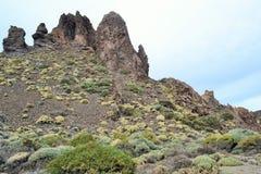 Lava Rocks-Teide Vulkano Imagen de archivo