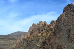 Lava Rocks-Teide Vulkano Fotos de archivo