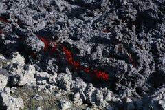 Lava rossa immagine stock
