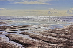 Lava Sand Beach negro, costa sur, Islandia Fotografía de archivo