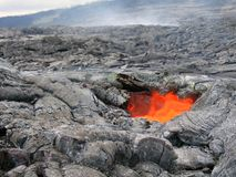Lava Skylight Royalty Free Stock Images