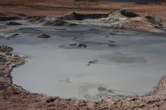 Lava in Sol de Manana Royalty Free Stock Photo