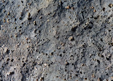 Lava stone volcanic texture detail from La Palma Royalty Free Stock Image